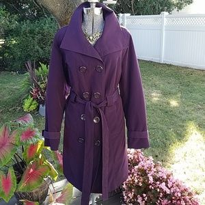 Lane Bryant Women's Trench Coat Size 14 /16